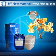 Unsatureted resin for art crafts with complex patterns