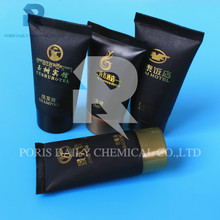 Hot sale disposable gold stamp tube mini hotel shampoo