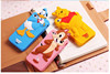 soft silicon phone case cut mickey minnie donald chip winnie piglet for iphone 5 5s 4 4s