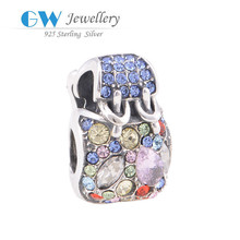 Wholesale Cheap European Style Bag Charm Graduation Charm 2015 Import China Jewelry