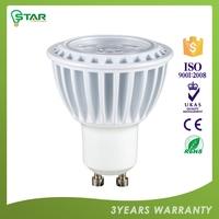 100% Warranty Personalized Ce ,Rohs Certified 2700K 3000K Warm White Spot Lamp Led