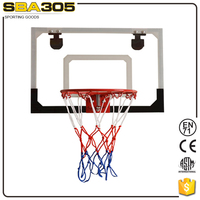new design transparent wall fixed basketball board