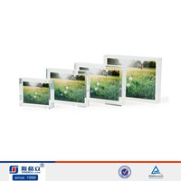 Multiple style square clear acrylic photo frame cutting machine prices