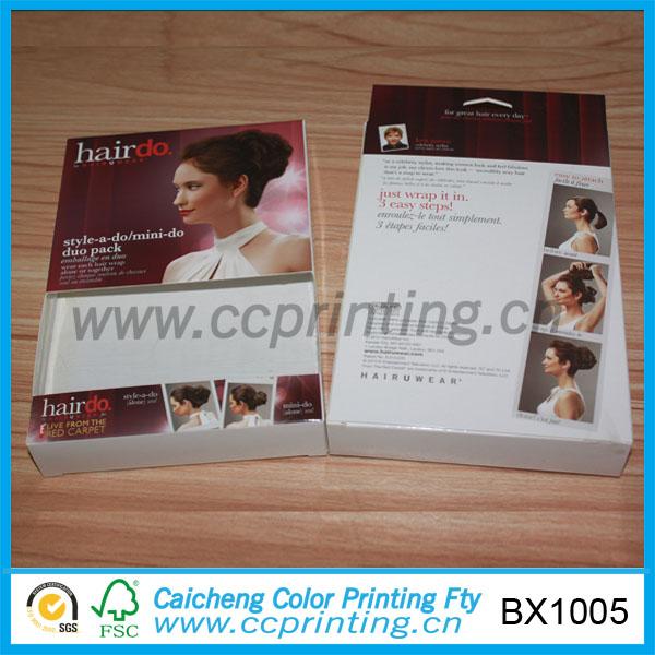 Fashion Paper Wig Box For Wigs