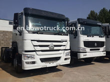 6x4 Tractor Truck, Best Tractor Truck ZZ4257V3241W 420HP Tractor Log Trailer