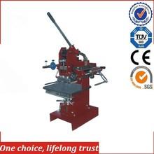 TJ-1E Embossing press machine leather