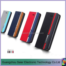 China wholesale Special design Color matching smart flip case for huawei p8 lite