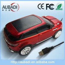 Promotional High Quality Beauty Optical 2.4 G Land Rover Car Shape Mouse