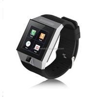 2015 Fashion High Quality Unisex Smart Phone Watch Simple Touch Screen Calculator Wrist Watches With Lighter Waterproof 3-5ATM