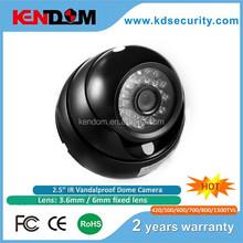 "CCTV AHD camera 1/3"" SONY CCD sensor with 24pcs IR LEDs IR Dome Camera the best price security camera"