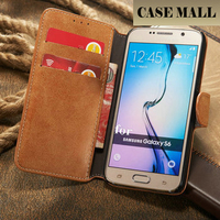Retro Flannelette Wallet Case Leather for Galaxy S6/Leather Wallet Case for Samsung S6