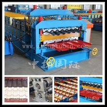 Corrugated & IBR Roof Sheet Double Layer Roll Forming Machine /Roof panel machine, Roll form machine
