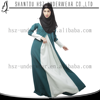 MD10002 Islamic abaya Muslim fashion long sleeve plus size clothing wholesale ladies casual dress women burqa gamis