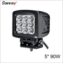 5.2 inch 90w motorcycle spot/flood/combo fog lights led for 4*4/suv/atv/jeep