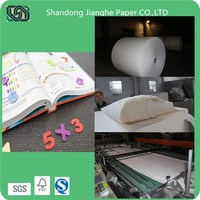 offset paper in roll / sheets 50gsm 60gsm 70gsm 80gsm 100gsm 120gsm