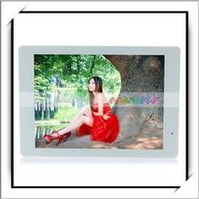 venta caliente 14 pulgadas de 4gb con pantalla de memoria de alta definición de acrílico marco de fotos digital