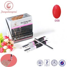 Makeup nail polish pen nail art design one step gel nail polish pen