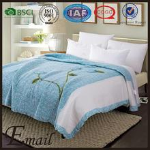 Professional applique cotton quilts with CE certificate