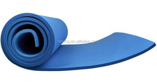 Blue Camping Yoga EVA Foam With Storage Straps Sleeping mat