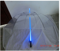 Customed Transparent Led Umbrella light,Dance props