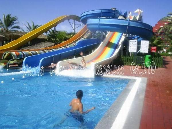 Aqua Park Fiberglass Water Slide Outdoor Swimming Pool Slides Buy Swimming Pool Slides For