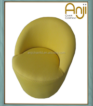 Modern Round Couch Chair with Fabric Covered for Living Room