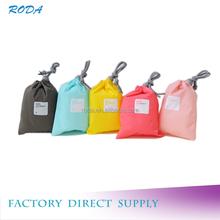 Drawstring Multi-purpose Colorful Travel Storage Bag For Organization