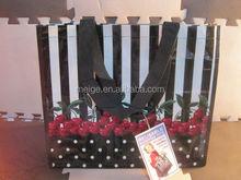 BSCI audit factory OEM&ODM non woven pp shopping bag/zipper pp non woven bags/pp woven potato bag