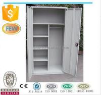 Metal wardrobe cabinet with inside shelf/wardrobe armoire