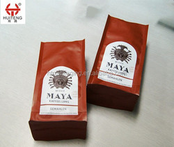 Flat Bottom Gusset Laminated Pouch/Bag for Coffee Package