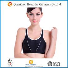 Summer adjustable sport bra yoga tops women fitness yoga wear