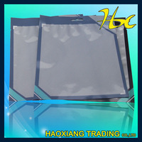 aluminum foil plastic frozen food packaging bag with a clear window