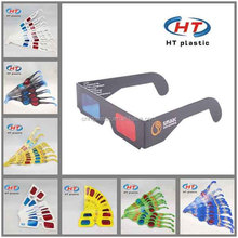 Hot Sales For Customized Logo 3D Paper Glasses/3D Video Glasses/3D Glasses