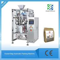 Automatic stand up pouch form fill seal packing machine