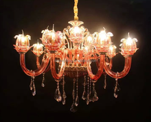 new design Crystal Chandelier Pendant 15 Lights , Chandelier Lamp