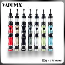 colored slim metal body vape pen designed for women smoker