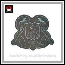 2014 caballo gris patrón parche bordado insignias