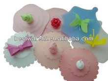 Fashion and hot selling leakproof silicone cup covers