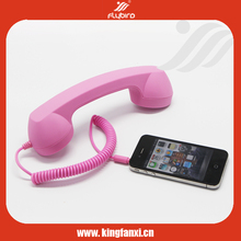 Retro style anti-radiation public telephone handset