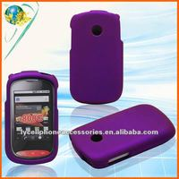 Snap-on Rubberized design cell phone case For LG 800G