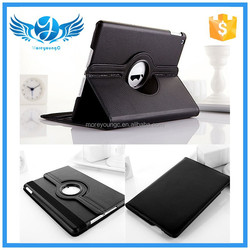 rotating 360 degree design tablet stand universal leather case for ipad 2/3/4