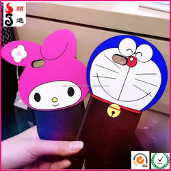 2016 3D Cartoon animals Hello Kitty/Doraemon/Mickey Mouse/Minnie Silicone case For iphone6 6s 4.7inch/6 plus/6s plus 5.5inch