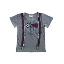 Popular style children clothing boys short sleeve T-shirt
