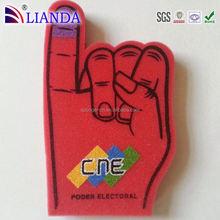 Custom any shape custom eva foam glove,giant foam hands,cheap foam fingers