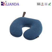 Home Fashions small U-shaped Memory Foam Neck travel Pillow snap to attach to luggage
