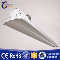 Ceiling-mounted linkable pendant beam led linear suspension light