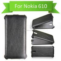 2014 Business Style Ultra Slim Thermoforming Wallet Leather Case for Nokia Lumia 610