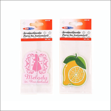 Customized Long Lasting Promotional Gift Hanging Paper Cardboard Car Air Freshener
