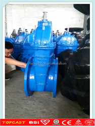 long stem gate valve/ gate valve pn16