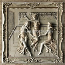 sandstone wall reliefs embossment carving for construction projects